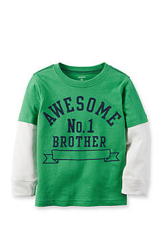 Carter's® Awesome Brother Graphic Tee Toddler Boys