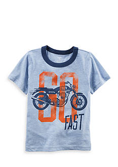 Carter's Motorcycle Graphic Ringer Tee Toddler Boys