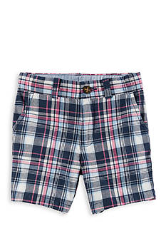 Carter's Plaid Flat-Front Shorts Toddler Boys