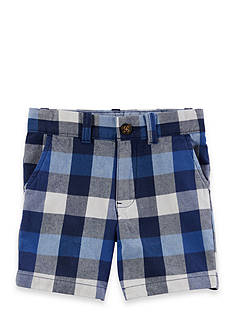 Carter's® Plaid Flat-Front Shorts Toddler Boys