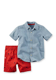 Carter's® 2-Piece Lobster Short Set Toddler Boys