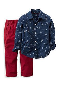 Carter's 2-Piece Long Sleeve Shirt and Pant Set Toddler Boys