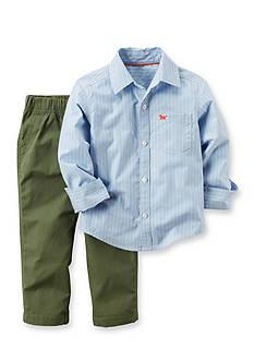 Carter's 2-Piece Striped Shirt and Pant Set Toddler Boys