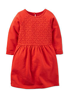 Carter's® Lace Knit Dress Toddler Girls