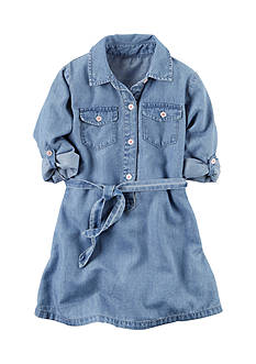 Carter's® Chambray Dress Toddler Girls