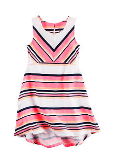 Carter's® Multi Striped Dress Toddler Girls