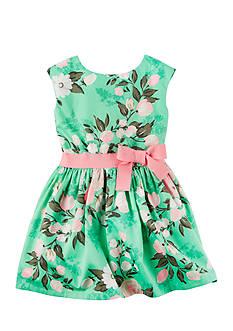Carter's Floral Print Dress Toddler Girls