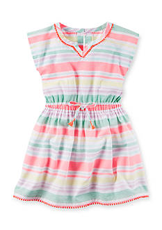 Carter's® Neon Striped Dress Toddler Girls