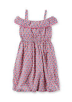 Carter's® Ruffle Poplin Dress Toddler Girls