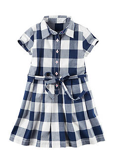 Carter's® Plaid Dress Toddler Girls