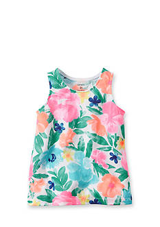Carter's® Floral Tank Toddler Girls