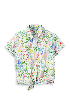 Carter's Floral Tie Front Top Toddler Girl