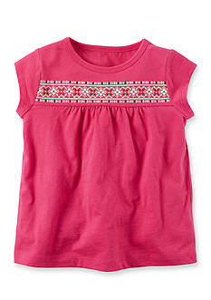 Carter's Puff Print Tee Toddler Girls
