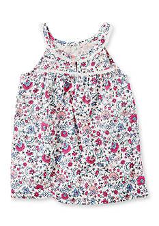 Carter's Floral Woven Tank Top Toddler Girls
