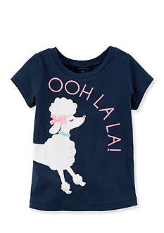 Carter's Poodle Graphic Tee Toddler Girls