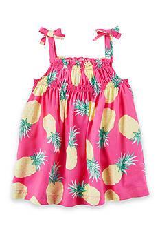 Carter's Pineapple Tie Tank Toddler Girls