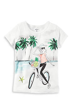 Carter's Bike Girl Tee Toddler Girls