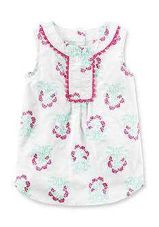 Carter's Pom Pom Floral Tunic Toddler Girls