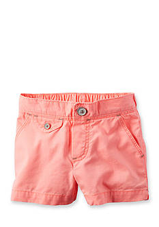Carter's® Neon Twill Shorts Toddler Girls