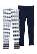 Carter's® 2-Pack Boho Leggings Toddler Girls