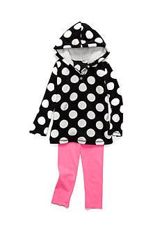 Carter's Polka-Dot Fleece Set Toddler Girls