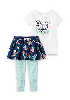 Carter's 2-Piece Daddy's Girl Tee and Skirt Set Toddler Girls