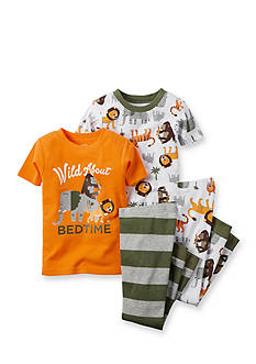 Carter's® 4-Piece Animal Pajama Set