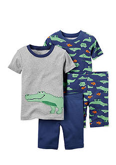 Carter's® 4-Piece Alligator Pajama Set