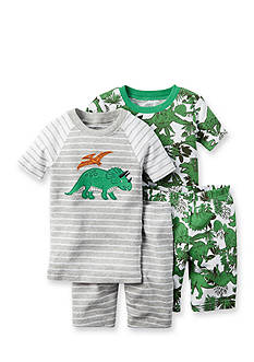 Carter's® 4-Piece Dino Pajama Set