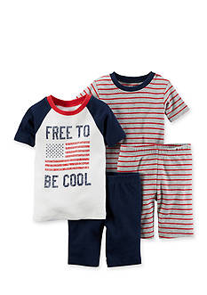 Carter's® 4-Piece Americana Sleep Set