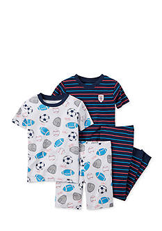 Carter's® 4-Piece Sports Pajama Set