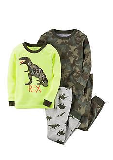 Carter's 4-Piece Dinosaur Sleepwear Infant Boys