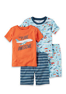 Carter's® 4-Piece Awesome Snug Fit Cotton PJs