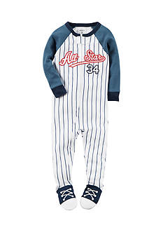 Carter's 1-Piece Baseball Sleepwear Infant Boys