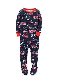 Carter's 1-Piece Navy Rescue Sleepwear Infant Boys