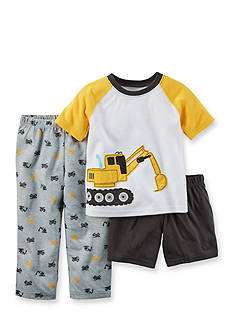Carter's® 3-Piece Tractor Pajama Set