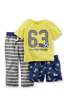 Carter's® 3-Piece Sports Pajama Set
