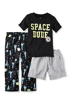 Carter's 3-Piece Glow-In-The-Dark Cotton and Jersey PJs