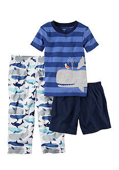 Carter's 3-Piece Cotton and Jersey Pajamas