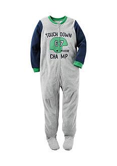 Carter's Touchdown Fleece Pajamas