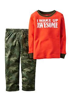 Carter's 2-Piece Camo I Wake Up Awesome Sleepwear Infant Boys