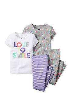 Carter's® 4-Piece Smile Pajama Set