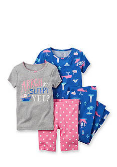 Carter's® 4-Piece 'Arrgh' Pajama Set