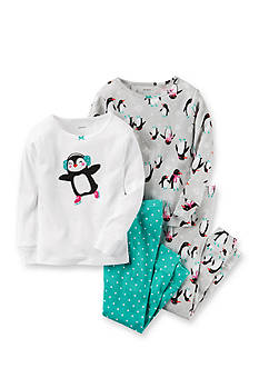 Carter's® Penguin 4-Piece Sleep Set