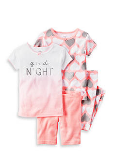 Carter's 4-Piece Heart Pajamas