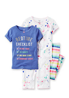 Carter's 4-Piece Snug Fit Cotton Pajamas Set