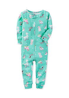 Carter's® 1-Piece Snug Fit Cotton Footless PJs
