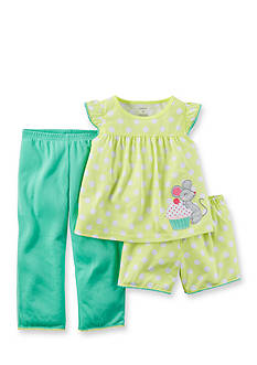 Carter's® 3-Piece Mouse Pajama Set