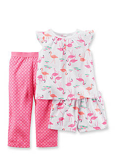 Carter's® 3-Piece Flamingo Pajama Set