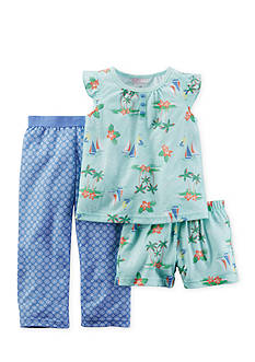 Carter's® 3-Piece Boat Pajama Set